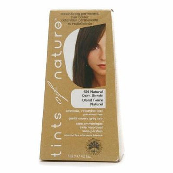 Tints of Nature Conditioning Permanent Hair Color, Natural Dark Blonde 6N 4.2 fl oz (120 m)