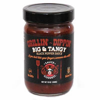 Sauce Goddess Sauce, Big and Tangy, 13 Ounce Jar (Pack of 4)