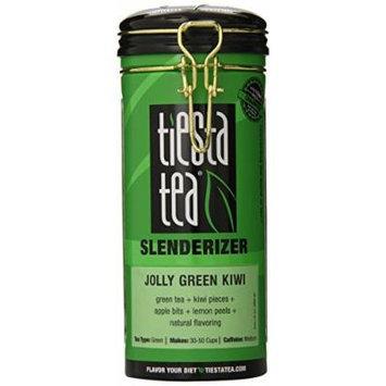 Tiesta Tea Green Tea, Jolly Green Kiwi Slenderizer, 4.0 Ounce