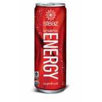 Steaz Organic Energy Super Fruit Flavor, 12 Ounce (Pack of 12)