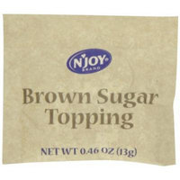 N'Joy Brown Sugar Topping For Oatmeal, 125 Count