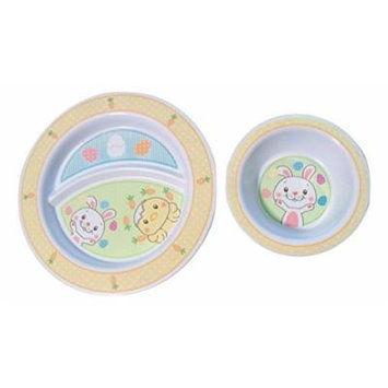 Munchkin Divided Toddler Plate and Bowl Set ~ Spring and Easter Surprises!