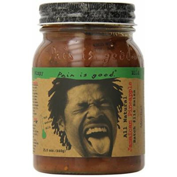 Pain Is Good Jamaican Pineapple Salsa Sauce, 15.5 Ounce