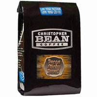 Christopher Bean Coffee Whole Bean Coffee, Pecan Sticky Buns, 12 Ounce
