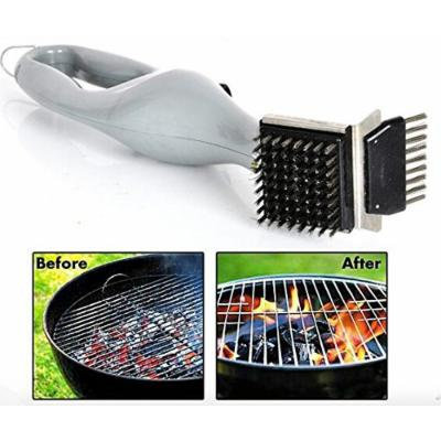 Generic BBQ Cleaning Brush Stainless Steel Barbecue Grill Cleaner with Power of Steam