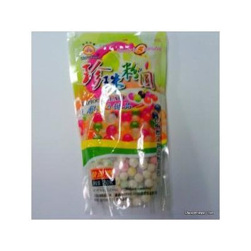 WuFuYuan - Tapioca Pearl Multi-Color 8.8 Oz / 250 G (Pack of 4)