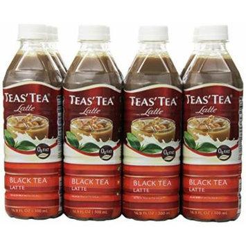 Teas' Tea Black Tea Latte, 16.9 Ounce (Pack of 12)