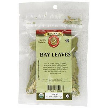 Aromatica Organics Bay Leaves, 0.12-Ounce