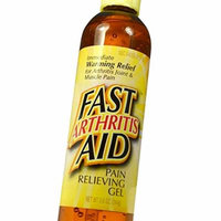 Fast Arthritis Aid - Odor Free Pain Relieving Gel. Capsaicin Based for Immediate and Long Term Relief of Arthritis, Joint and Chronic Pain. 8.6oz