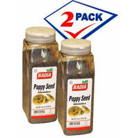 Badia Poppy Seed. 16 oz . Large container. Pack of 2