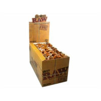 RAW Natural Unrefined King Size Cones - 10 Containers of 3 Cones