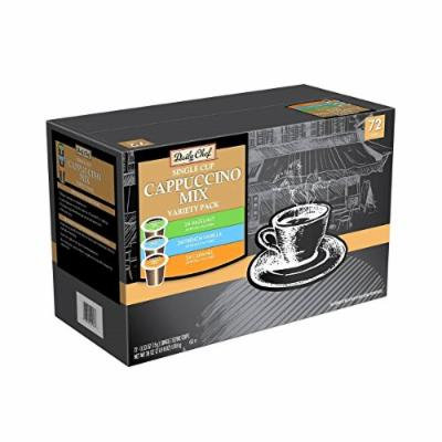 Daily Chef Cappuccino Single Serve Coffee Variety Pack (72 K-Cups)