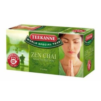 Teekanne ZEN CHAI tea imported from Europe- 20 tea bags-Shipping from USA
