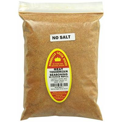 Marshalls Creek Spices Refill Pouch No Salt Meat Tenderizer Seasoning, XL, 22 Ounce