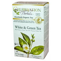 Celebration Herbals White and Green Tea Bags
