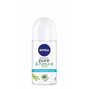 NIVEA Pure & Natural Aluminum Free Roll-On Deodorant