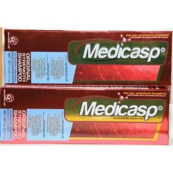 Medicasp Therapeutic Shampoo 2 Pack with Free Gorro De Ducha