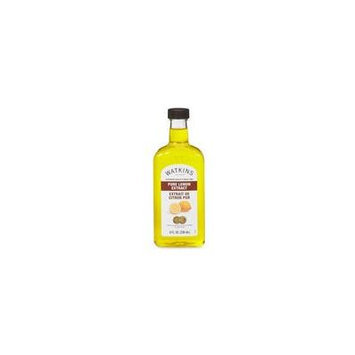Watkins Pure Lemon Extract 8 oz.