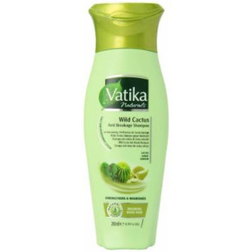 Dabur Vatika Wild Cactus Anti Breakage Shampoo, 6.76-Fluid Ounce (Pack of 2)