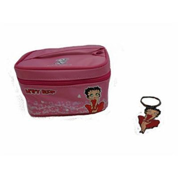 Betty Boop Small Cosmetic Case and Key Chain
