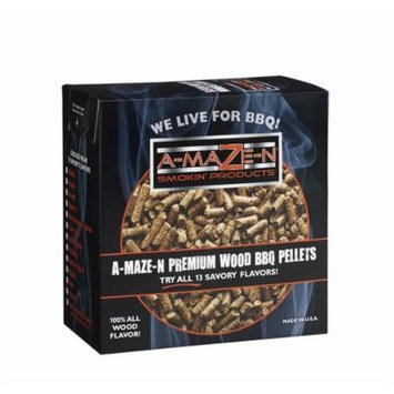 A-MAZE-N 1 AMNP2-SPL-0007 100% Mesquite BBQ Pellets, 2 lb
