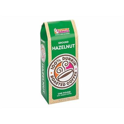 Dunkin Donuts Ground Coffee - Hazelnut, 1-lb