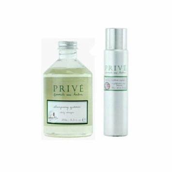 Prive Daily Shampoo 250ml + Shining Weightless Amplifier 3oz (Duo Set)