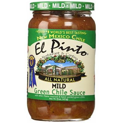 El Pinto Green Chile Sauce, Mild, 16 Ounce (Pack of 6)