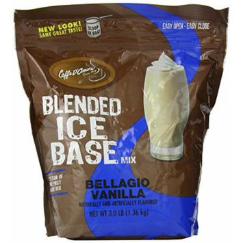 Bellagio Barista Base Blends, Vanilla Bean, 3-Pound