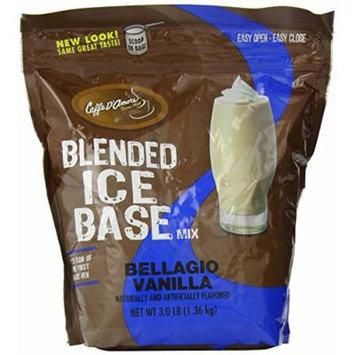 Bellagio Barista Base Blends, Vanilla Bean, 3-Pound