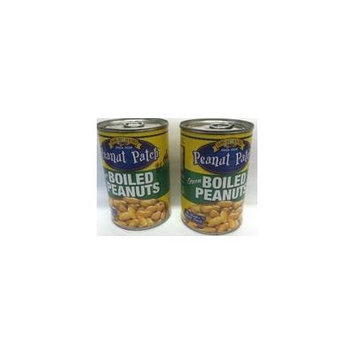 Peanut Patch Green Boiled Peanuts Two -13.5 Oz. Cans