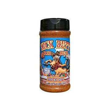 Kick Butt Hickory Rib Rub - Hot, smokey, and awesome on the grill! Use on ribs, chicken, fish or pork.