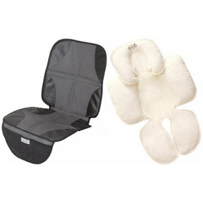 Summer Infant Car Seat Protector DuoMat with Snuzzler Head & Body Support