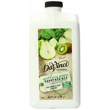 DaVinci Natural Fruit Smoothies Gratifying Greens, 64 Ounce