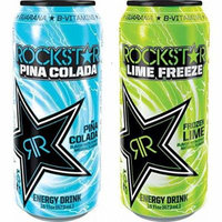 Rockstar Lime Freeze and Pina Colada
