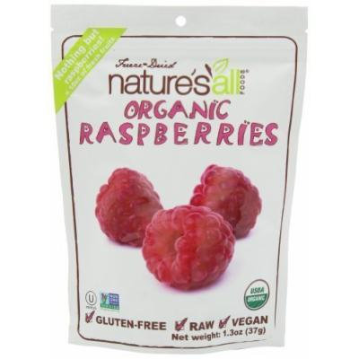 Nature'S All - Nature'S All Freeze Dry Raspberry 1.3Oz (Pack Of 12)