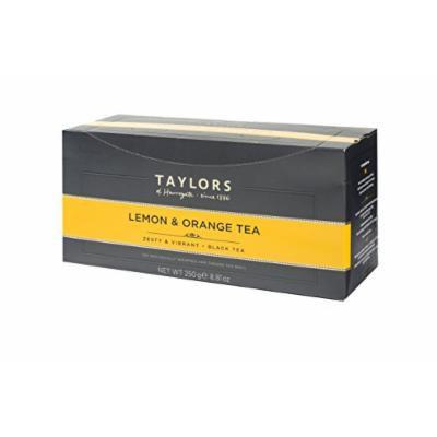 Taylors of Harrogate Wrapped Tea Bags, Lemon and Orange, 100 Count