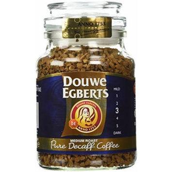 Douwe Egberts Pure Decaf Instant Coffee 2 Jars 3.5oz/100g Each