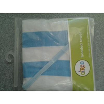 Circo® Baby Knit Stripe Hooded Towel - Blue
