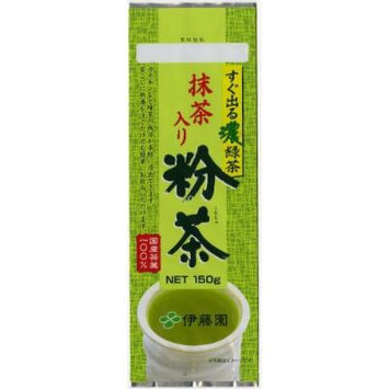 Deep Green Tea Which Comes Out Immediately Powdered Tea Containing Powdered Green Tea 159g×10