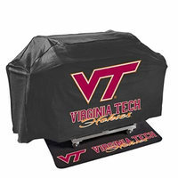 Mr. Bar-B-Q 155147-189915 Virginia Tech University Hokies NCAA Grill Cover & Grill Mat Set