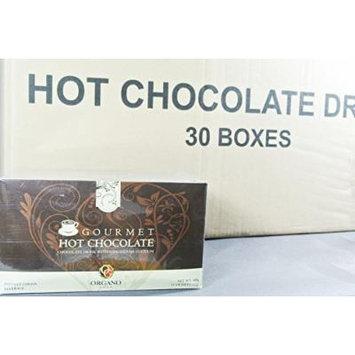 30 Organo Gold Gourmet HOT CHOCOLATE with 100% Organic Ganoderma (15 sachets per box)