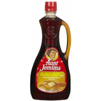 Aunt Jemima Regular Butter Syrup, 24 oz