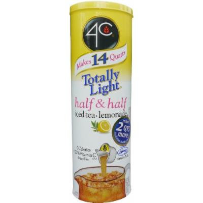 4C Totally Light Half & Half, Iced Tea Lemonade, Sugar Free, 7-Count Canisters (Pack of 4)