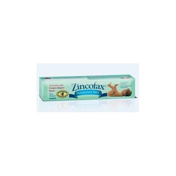 ZINCOFAX 'FRAGRANCE FREE' Ointment for Treatment, Healing and Prevention of DIAPER RASH 50g