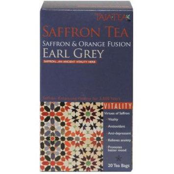 Saffron & Orange Earl Grey Tea, 12 pack