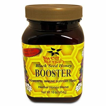 Sweet Sunnah Natural Black Seed & Booster Honey 16.oz