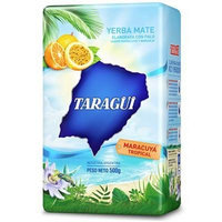 YERBA MATE TARAGUI MARACUYA - PASSION FRUIT- IMPORTED FROM ARGENTINA - 500 GR/1.17 LB (2PACK)