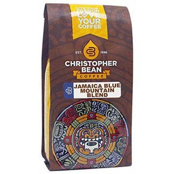 Christopher Bean Coffee Whole Bean Coffee, Jamaica Blue Mountain Blend, 12 Ounce