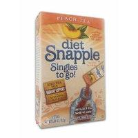 Snapple Diet Singles to go! Peach Tea